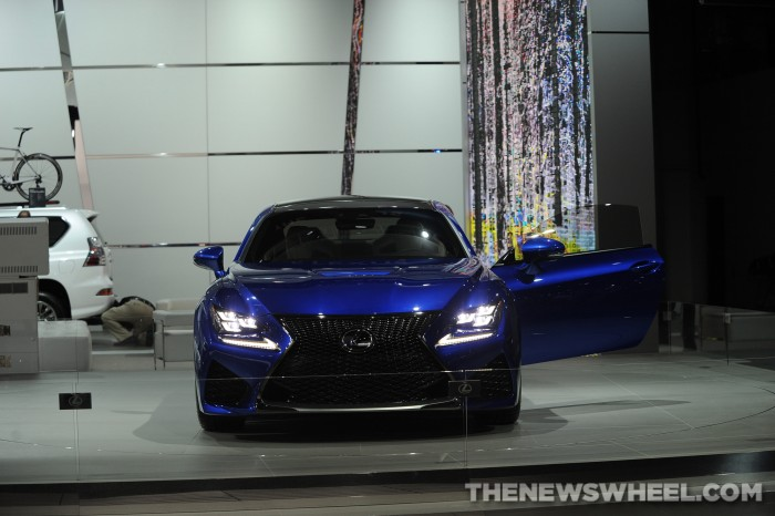 Lexus NAIAS Display: RC F