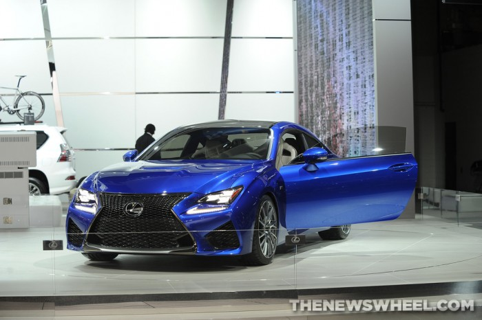 2014 Road & Track Performance Car of the Year | Lexus RC F