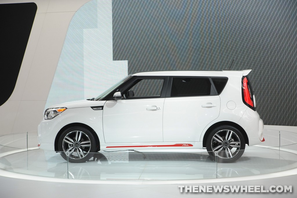 Kia NAIAS Display: the Soul