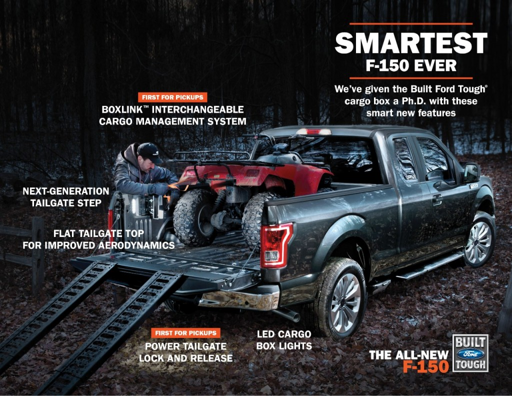 The Smartest Ford F-150 Ever Truck Bed