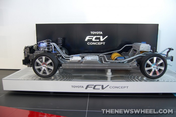 Toyota NAIAS Display: FCV Concept