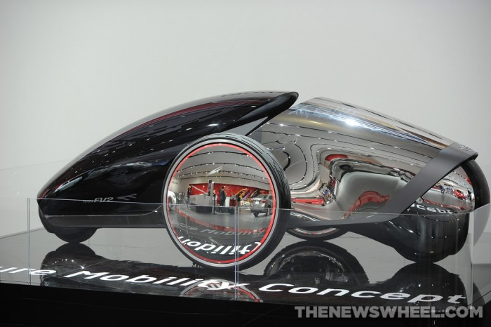 Toyota NAIAS Display: FV2 Concept