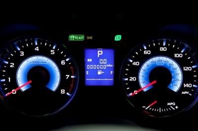 XV Crosstrek Hybrid panel