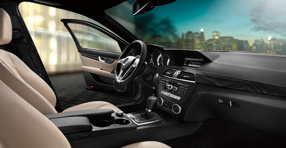 2014 Mercedes-Benz C-Class Interior
