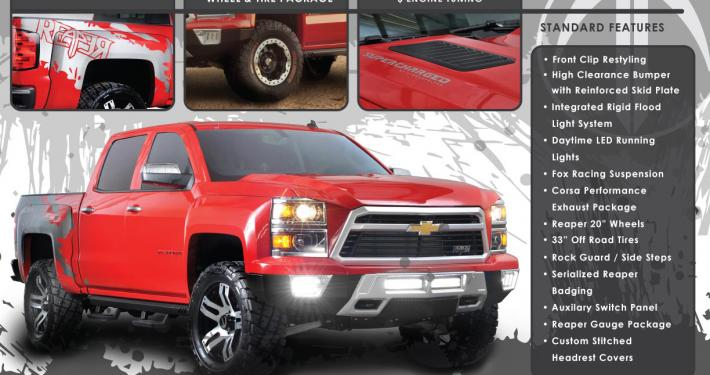 2014 Silverado Reaper is No Pale Horse, Looks to Make ...