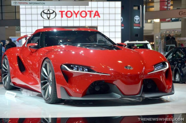 Toyota FT-1 Concept Car - Next Supra