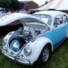 1960 VW Beetle Blue