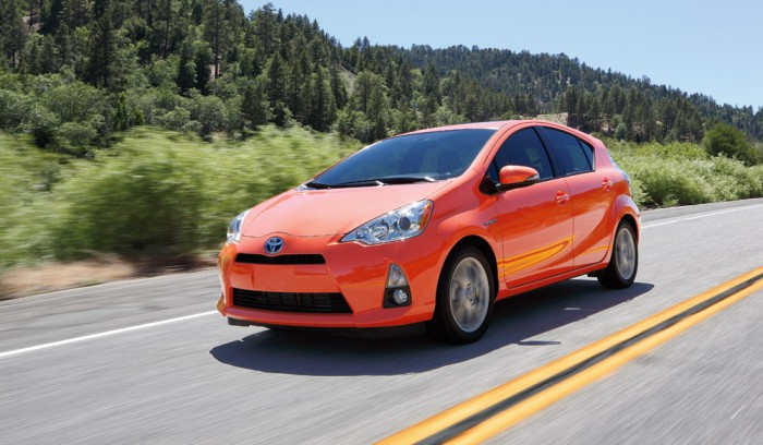 California's Best-Selling Vehicle in 2013 - Toyota Prius