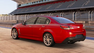 2014 Chevrolet SS pace car catches fire