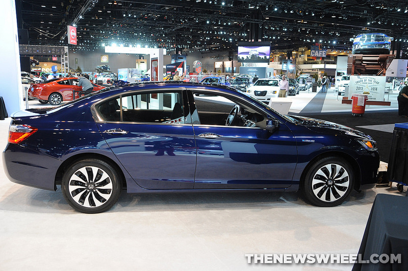 The Honda Accord (shown here at the Chicago Auto Show) was named KBB's Best Mid-Size Sedan.