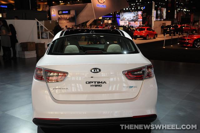 Kia Optima Hybrid 2014 2014 Kia Optima Hybrid