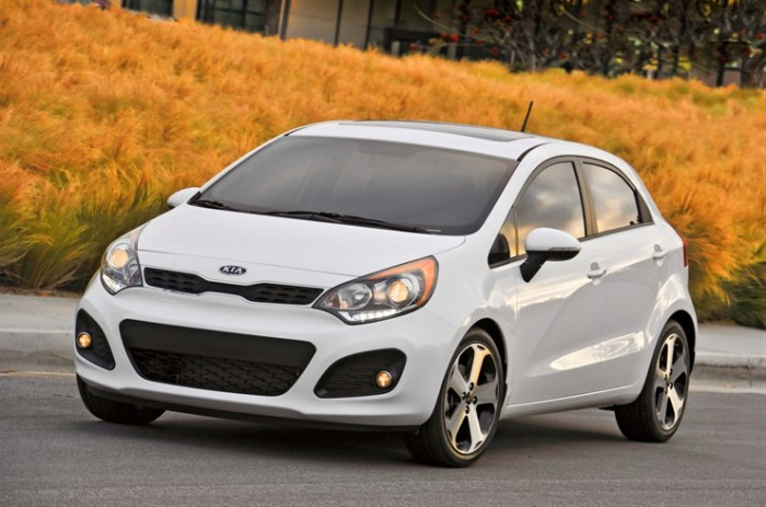 The Kia Rio earned one of the International Design Awards back in 2012.