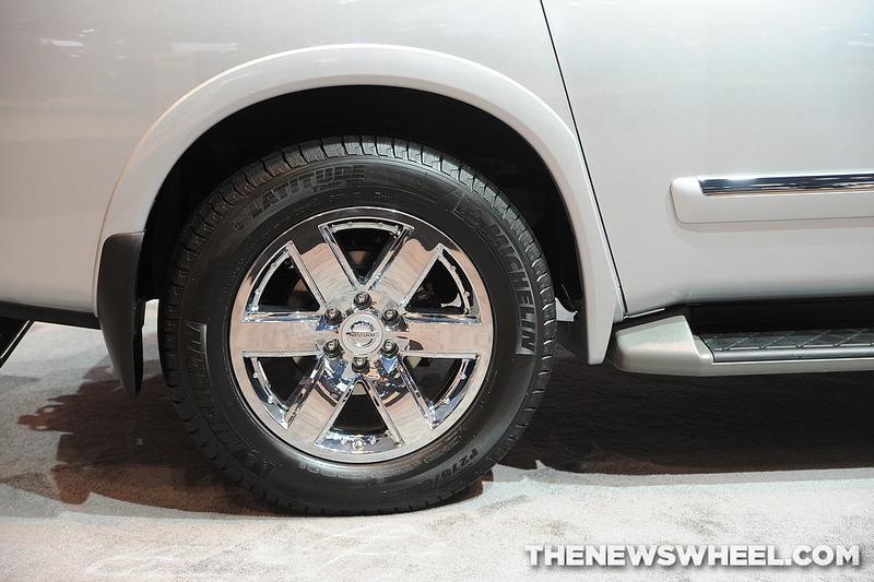 2014 Nissan Armada Wheel