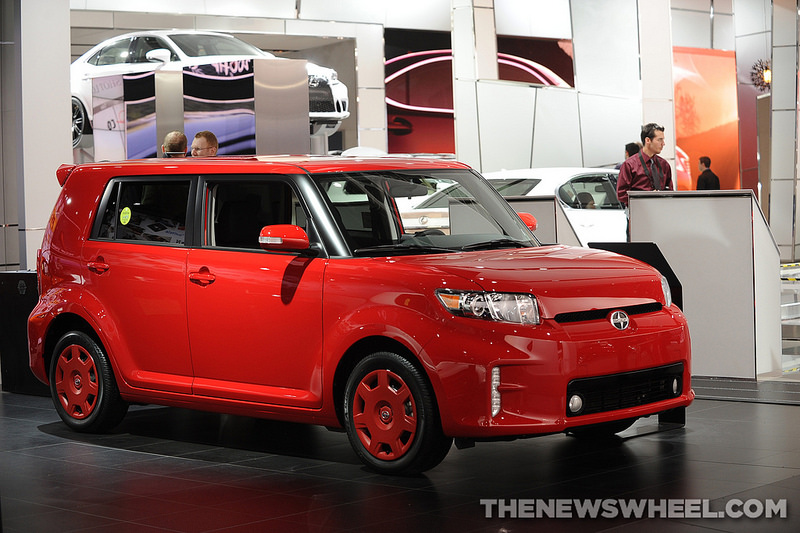 2014 scion xb overview the news wheel. Black Bedroom Furniture Sets. Home Design Ideas