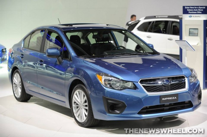 2014 Subaru Impreza - subaru global architecture