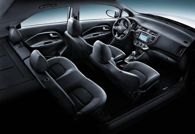 The 2014 Kia Rio 5-Door features a very comfortable interior