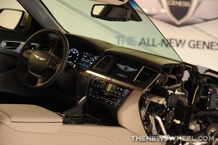 2015 genesis is 2014 car of texas the news wheel 2015 Hyundai Genesis Ultimate 2014 car of texas genesis