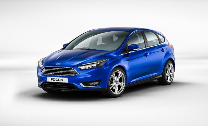 2015 Ford Focus engine