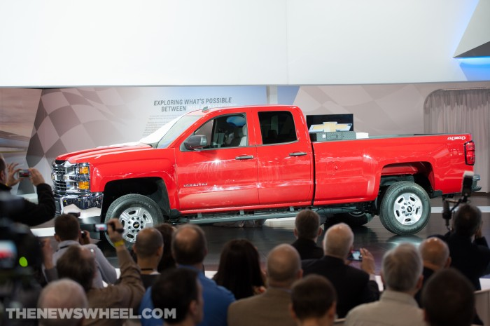 2015 Silverado HDs Unveiled at Chicago Auto Show