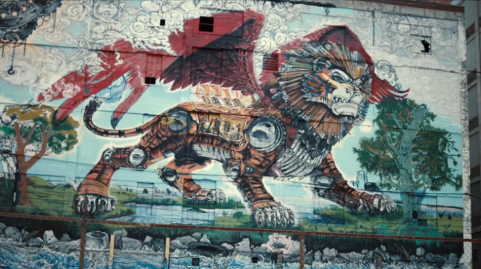 Chrysler Super Bowl Ad Dylan Griffin Lion Thing