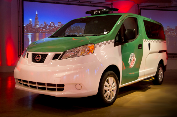 Customized Chicago NV200 Taxi