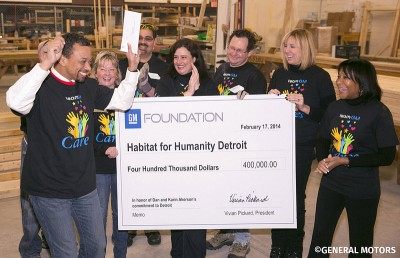 GM Foundation Gives Back