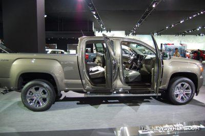 GMC Truck on Display
