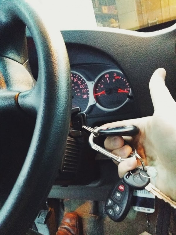 key stuck in ignition