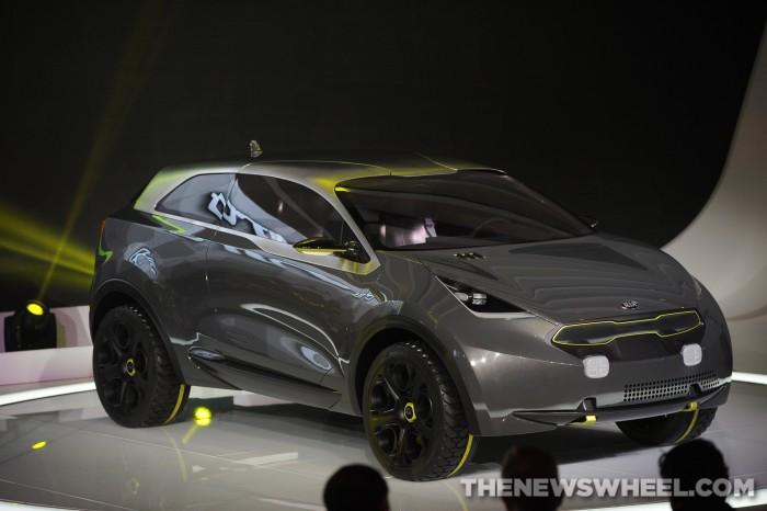 2017 Kia Niro Concept The Inspiration For Upcoming Hybrid Crossover