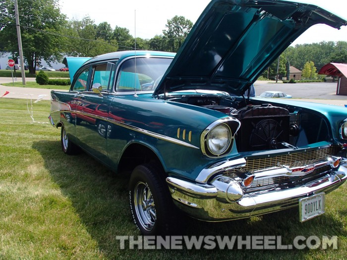 Son Gives Father 1957 Chevy Bel Air
