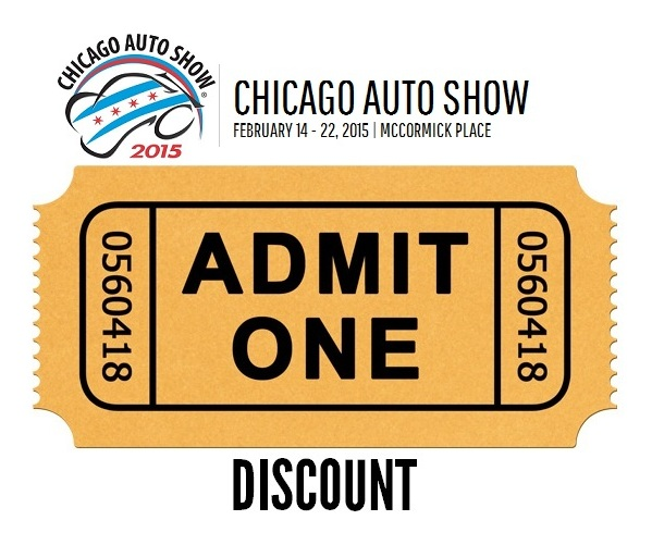 Chicago auto show discount coupons