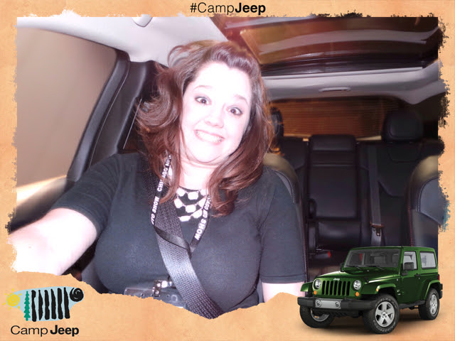 Camp Jeep Souvenir Photo - 2014 Chicago Auto Show
