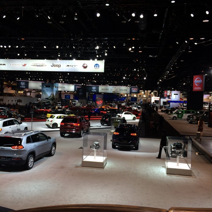 Camp Jeep - Aerial View - 2014 Chicago Auto Show