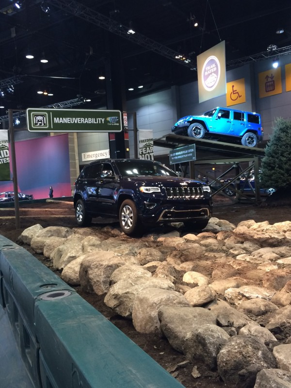 Camp Jeep - Fiat Chrysler Automobiles at the 2015 New York International Auto Show
