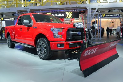 2015 F-150 Snow Plow Prep Option