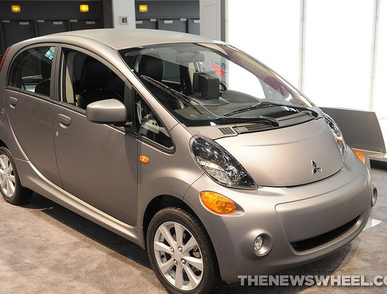 2016 mitsubishi i miev goes on sale in march with more options the news wheel. Black Bedroom Furniture Sets. Home Design Ideas