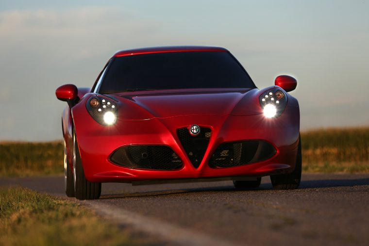 2014 Road & Track Performance Car of the Year Alfa Romeo 4C