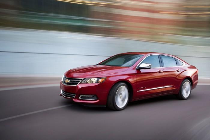 Chevy Racks Up 2014 Vehicle Satisfaction Awards 2014 Impala