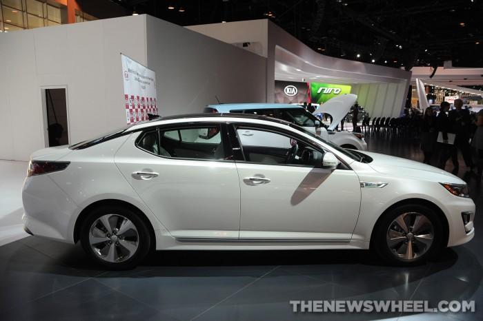 2014 Kia Optima Hybrid Overview