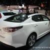 2014 Kia Optima Hybrid Overview Rear Quarter