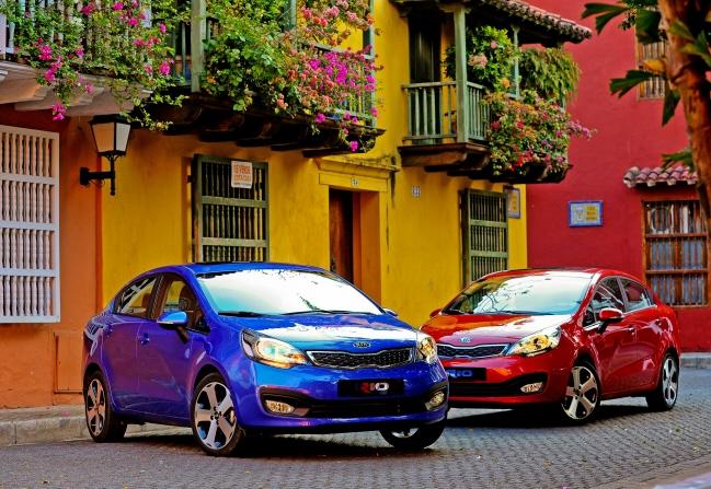 2014 Kia Rio Kia's February sales