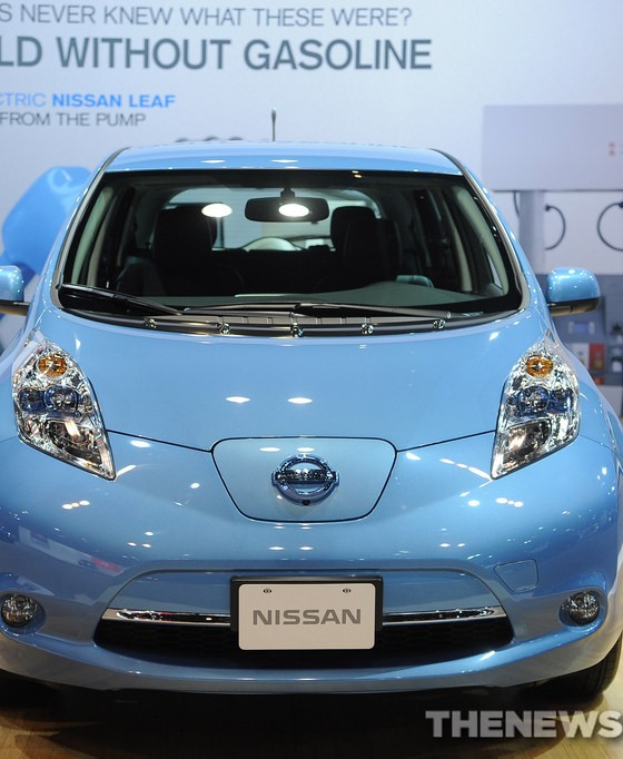 increase in 2014 nissan leaf domestic content the news wheel. Black Bedroom Furniture Sets. Home Design Ideas