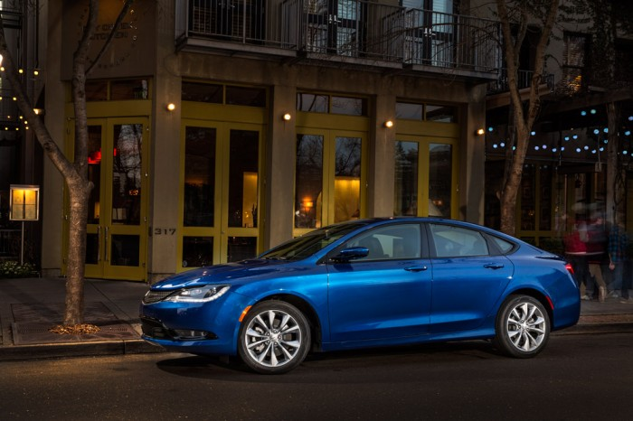 2015 Chrysler 200 with Full-Speed Forward Collision Warning-Plus