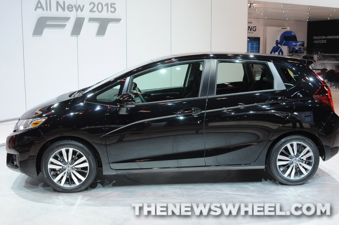 The 2015 Honda Fit, winner of the 2015 ALG Residual Value Award in the Sub-Compact Car segment