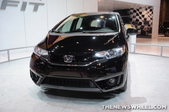 2015 Honda Fit at Chicago Auto Show