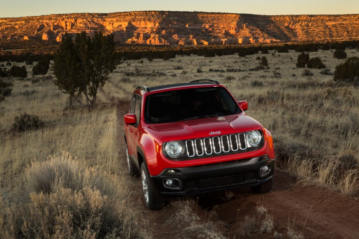 2015 Jeep Renegade Fiat Chrysler Automobiles at the San Antonio Auto Show