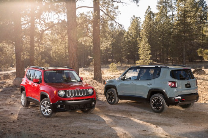 2015 Jeep Renegade Limited and Trailhawk models