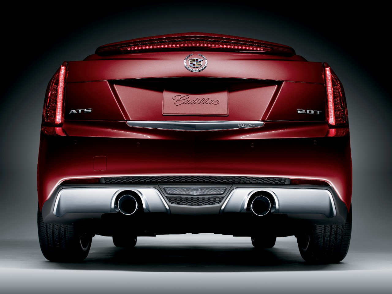 cadillac unveils ats crimson sport edition the news wheel. Black Bedroom Furniture Sets. Home Design Ideas
