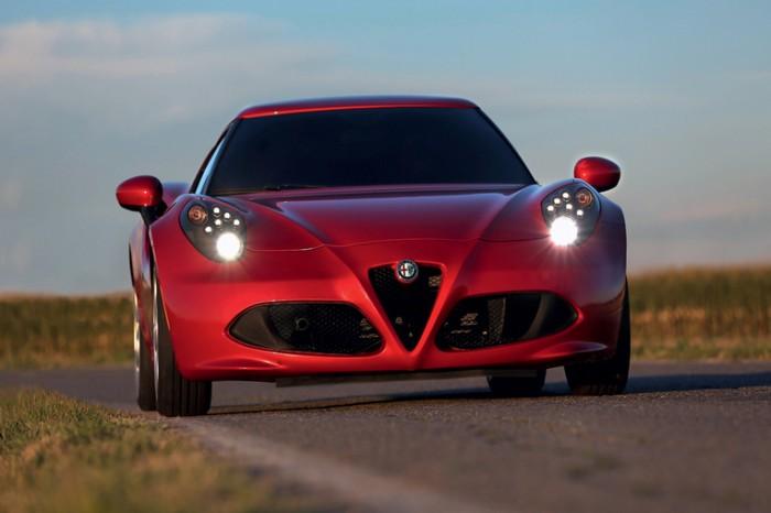 Fiat Chrysler Automobiles at the 2015 New York International Auto Show: Alfa Romeo 4C Spider
