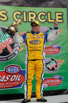 Allen Johnson - Driver of the Mopar Pro Stock Dodge Dart